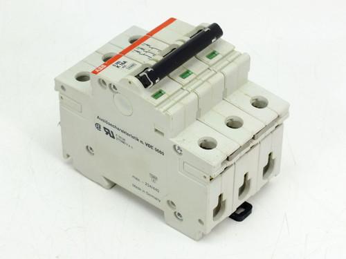 ABB S283-K16W K16A S283 480Y/277 VAC 10kA 3 Pole Circuit Breaker