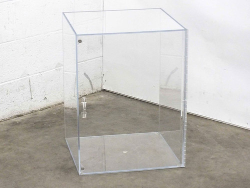 """Acrylic Desiccator Dry Box with Magnetic Door (18.5"""" Wide x 24"""" Tall x 19"""" Deep)"""