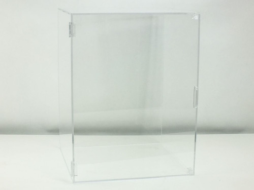 "Acrylic Desiccator Dry Box with Snap Enclosure Door 15.5"" Wide x 20.5"" Tall x 15"