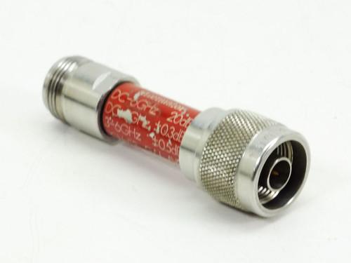 Narda Minipad Attenuator 3-6 GHz (773-20)