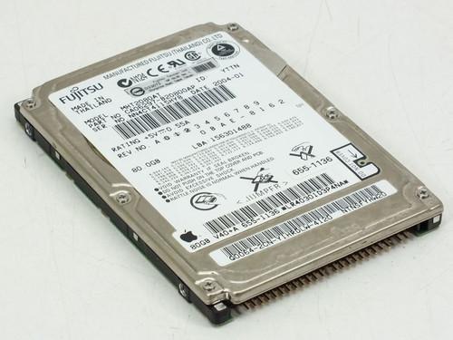 """Fujitsu 80GB 2.5"""" 9MM Hard drive (MHT2080AT)"""
