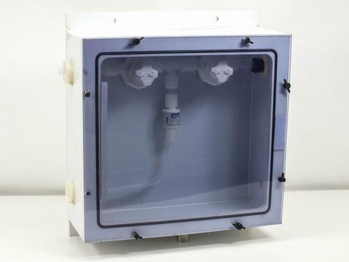 Fluoroware Chemical Control Valves in Sealed Enclosure (Partek CV-1-6688)
