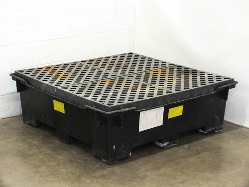 Polyethylene High Density Chemical Spill Sump Container 50x50x16