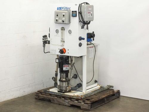 USFilter Water Filter Baldor Motor, Pulsatron Pumps and Tank - Aquasaver