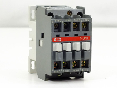 ABB Contactor Relay 4 Pole 25-127V 50Hz / 150V 60Hz (N31E)