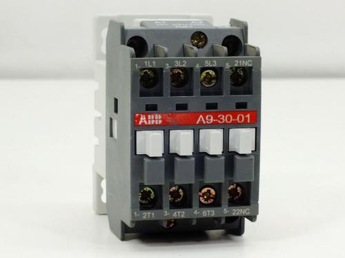 ABB Contactor Relay 4 Pole 220-230V 50Hz / 230-240V 60Hz 24 Volt Coil (A9-30-01)
