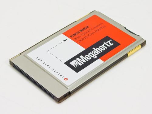 Megahertz 28.8K PCMCIA 14.4K Modem W/ XJack (XJ2288)