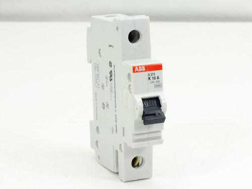 ABB S271-K10A Circuit Breaker 10AMP 1POLE 277/480VAC