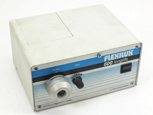 Scholly Fiberoptic GMBH Ellipsoid Reflector Lamp Flexilux 600 Longlife