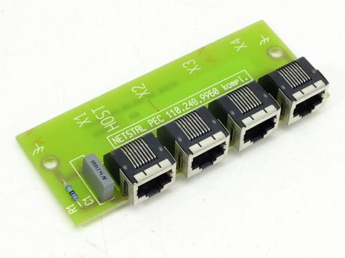 Netstal Komplett System Card / Board (PEC 110.240.9960)