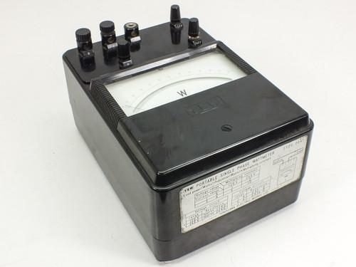 YEW Portable Single Phase Wattmeter (Type 2041)