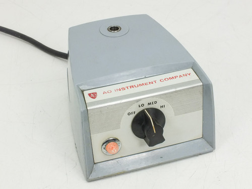AO Instrument Company 365 T American Optical Microscope Illuminator