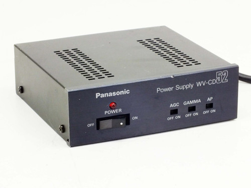 Panasonic WV-CD52 120V CCTV Power Supply for CCTV Camera Model WV-CD51