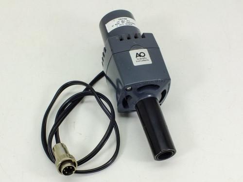 American Optical Scientific Instruments Lamp Light Source Bulb Housing (655)