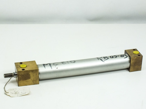 "Pneumatic 11"" Stroke 0.5"" Threading on 5/8"" Shaft with 0.5"" Ports (Cylinder)"