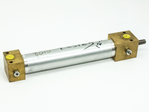 "Pneumatic 9"" Stroke 0.5"" Threading on 5/8"" Shaft with 0.5"" Ports (Cylinder)"