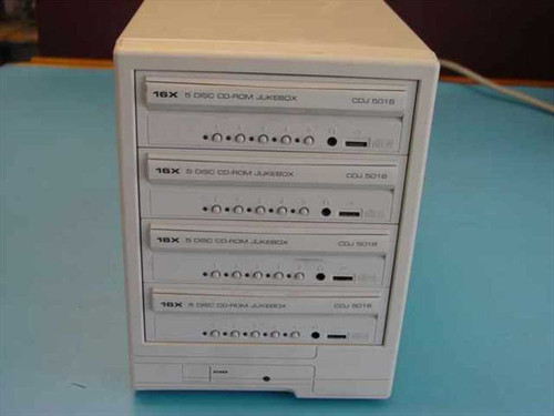 Smart & Friendly 4 Drive 20 Disc - Tower CDJ 20016