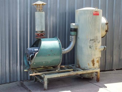 "Spencer 30 STA Industravac Central Vacuum System 15HP Motor 5"" Intake"