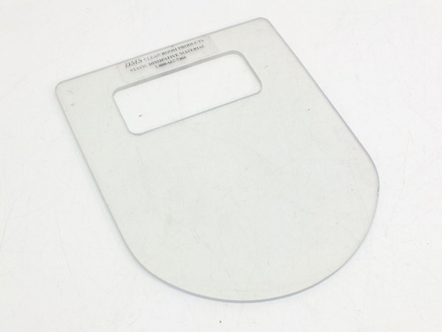 DMS Static Dissipative Sneeze Guard for Microscope (Clear)