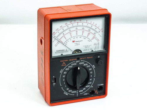 Triplett Model 60 Type 2 Suspension Analog VOM Volt Ohm Milliameter Multimeter