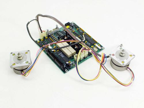 ADIC System Board with Stepping Motor PN P5N-U03S-148 (17-1076-01)