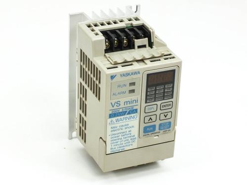 Yaskawa CIMR-XCAA20P2 Inverter Drive VS mini 200V 3 PH 0.2kW