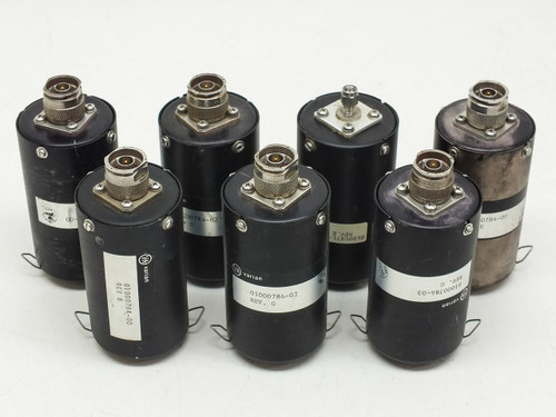 Varian Coaxial Microwave Sensor Lot of 7 01000784-00 01000784-02 01000784-03 010