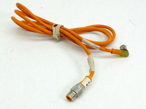 Lumberg Automation Cord 3-Pole STR-ANG (RST3 M12 / M8)