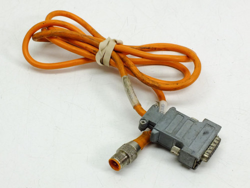 Lumberg Automation M12 Male to DA-15 Female Cableset Double-Ended (1.4m)