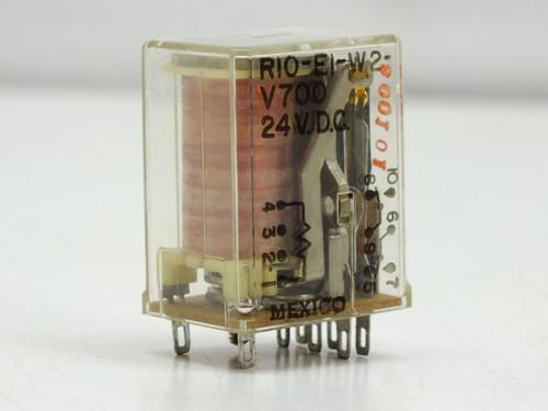 Potter & Brumfield Relay 2145 RIO-E1-W2-V700 2PDT 24VDC (RIO-E1-W2)