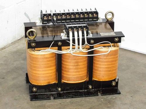 Kyoshin Keisoku Transformer PRI: 500/480/460 SEC: 200 Phase: 3 AMP: 20.2 (7kVA)