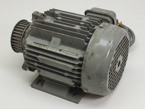 Hitachi 3-Phase 200/220 VAC Induction Motor 0.75kW 71-1326 TFO-K 4P