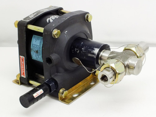 Haskel DSF-60 Pneumatic / Air Driven 9800 PSI Liquid Pump 60:1 Ratio