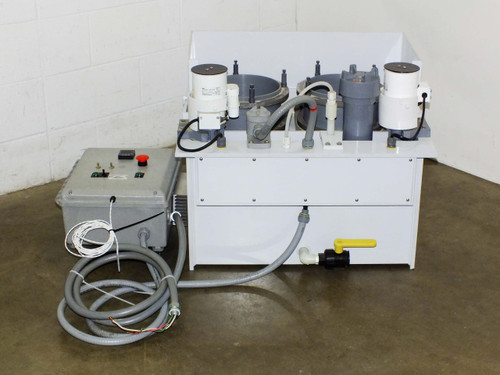 Process Control Electroplating HDPE Mixing Station MetPro ZXD Centrifugal Pump