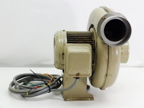 Showa Denki Co 265 CFM Electric Blower 3400 RPM 220V 3-Phase (EC-75T-R313)