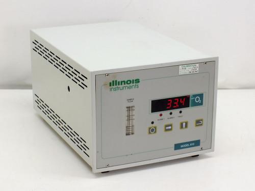 Illinois Instruments Model 810 O2 Gas Analyzer PPM Range