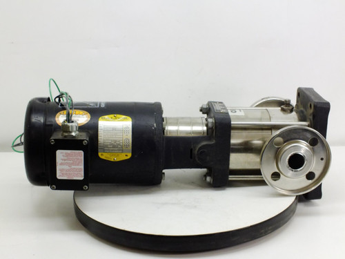 Baldor 1.5 HP Motor with Grundfos CR 2 Water Pump (85.600005)