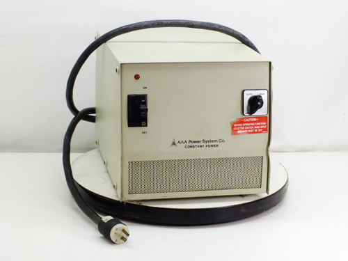 AAA Power System 2.0 KVA, 120V, 16.6A Constant Power 3 Transformer C3002A0100T1