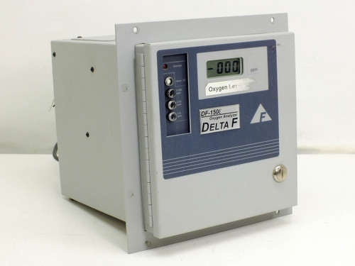 Delta F Oxygen Analyzer Range 0-10/100/1000 PPM DF-150E-0104 (153E-1000)