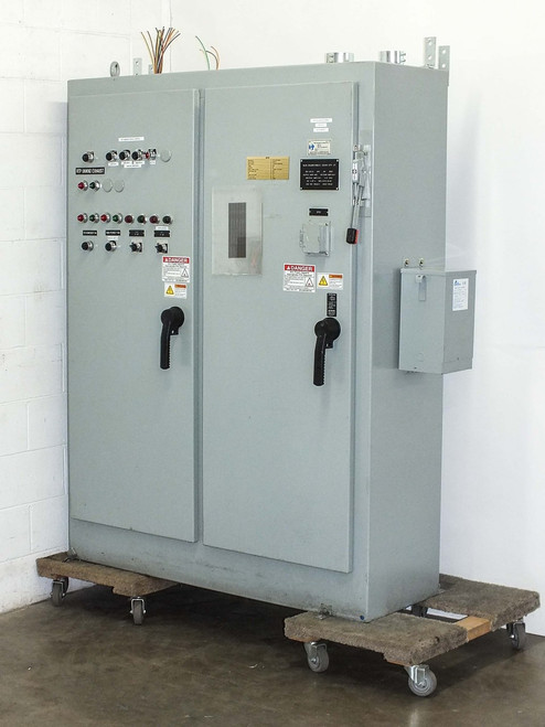 Hoffman Enclosed Industrial Control Panel Disconnect with Breakers (Two Door)