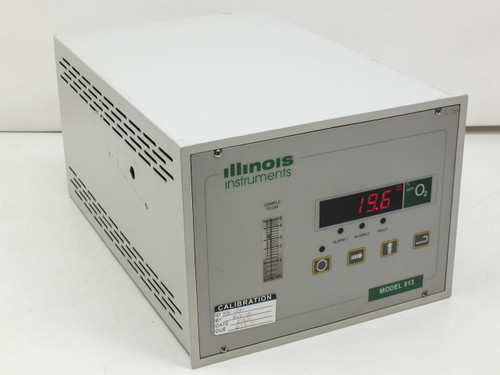 Illinois Instruments O2 Process Oxygen Gas Analyzer 0.1 PPM Range EC913 EC900