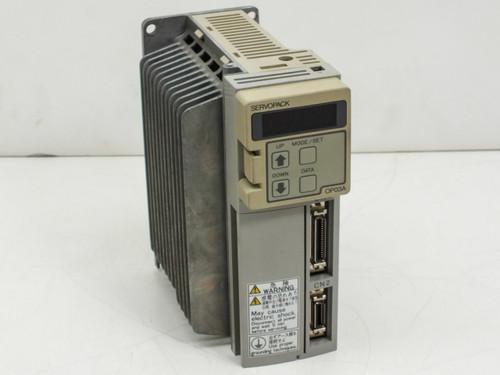 Yaskawa Servopack 200V 0.27HP Servo Drive with OP04P Digital Operator