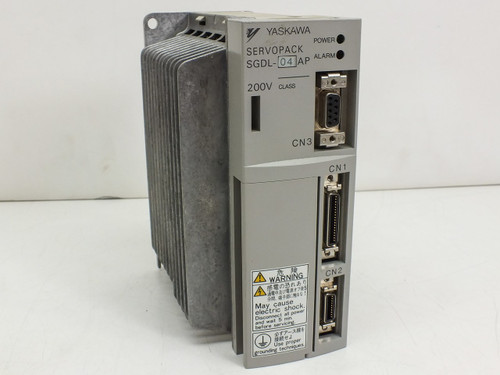 Yaskawa Servopack 200V 0.27HP Servo Drive SGDL-04AP