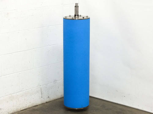 Electro Coatings Industrial Rubber NIP Roller Blue