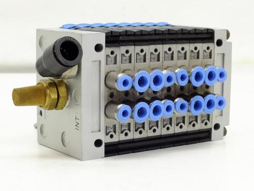 Festo Electric Pneumatic Air Soleniod Valve Manifold 7x-S402 2x-S202 (CPV)