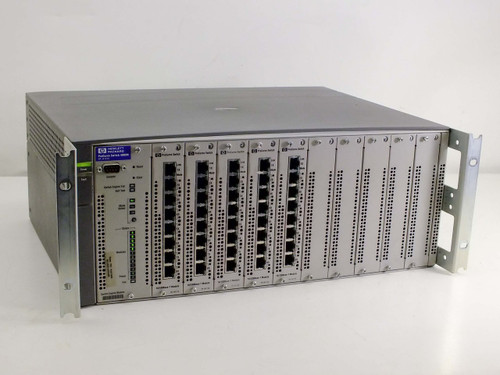 HP Procurve Switch 4000M with 5 J4111A 10/100Base - T Modules (J4121A)