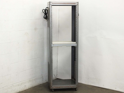 "Grey 19"" Control Cabinet Rackmount Chassis 22""L x 18""W x 69""H"