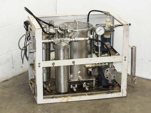 Laquer Dispensing System w/ Chemipon Series NS Metering Pump