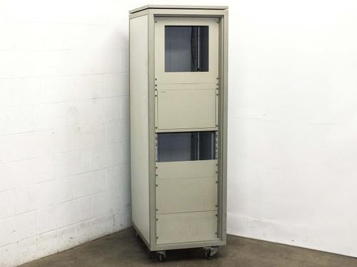 "Schroff 19"" Cabinet Rackmount Chassis w/ Power Strip (60 117-002-00)"