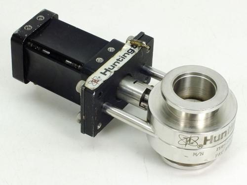"Huntington 1"" Pneumatic High Vacuum Butterfly Valve PBF-100-SF"